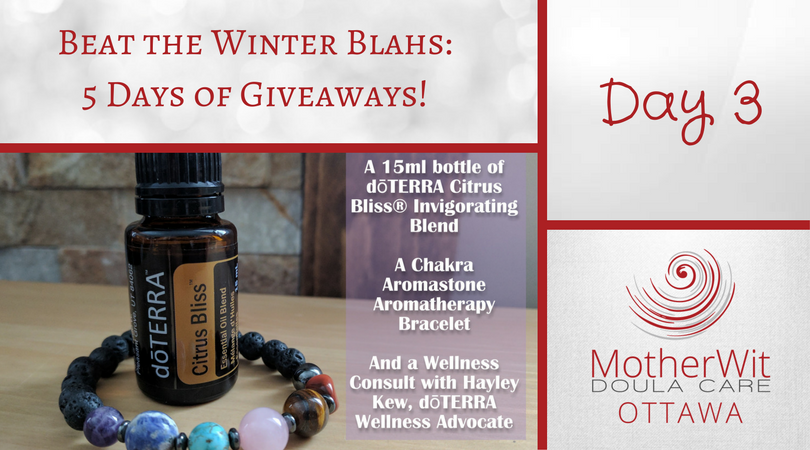 Beat the Winter Blahs: 5 Days of Giveaways! Day 3