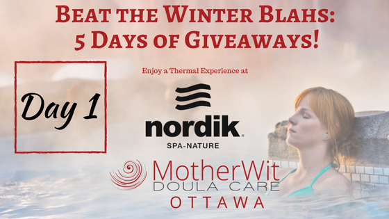 Beat the Winter Blahs: 5 Days of Giveaways! Day 1